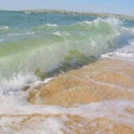 Хороший отдых на берегу азовского моря)