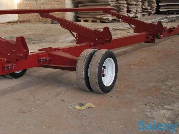Двухосная универсальная тележка для зерновых и кукурузных жаток купить, цена, фотография 4